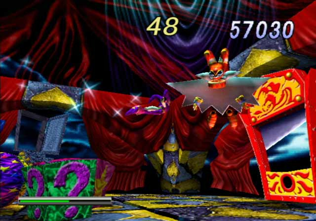 Pantallazo de NiGHTS: Into Dreams... para PlayStation 2