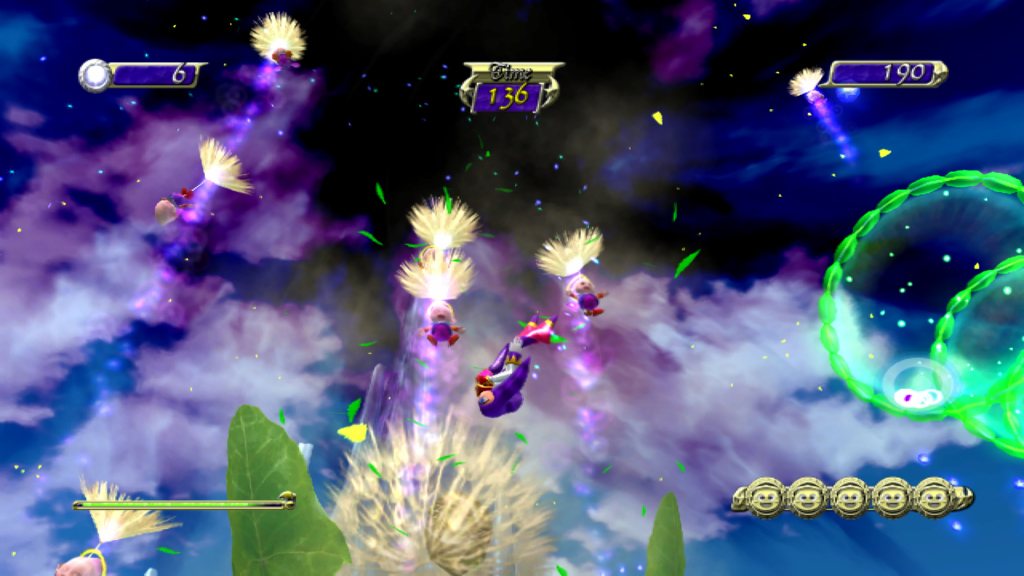 Pantallazo de NiGHTS: Journey of Dreams para Wii