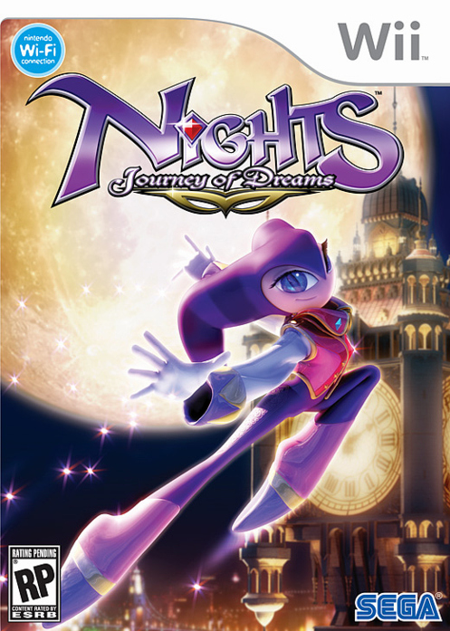 Caratula de NiGHTS: Journey of Dreams para Wii