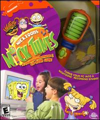 Caratula de NickToons: Nick Tunes PC Powered Microphone & CD-ROM Game para PC