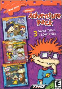 Caratula de Nickelodeon Adventure Pack para PC