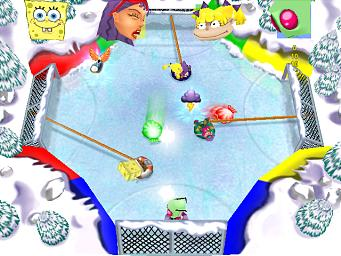 Pantallazo de Nickelodeon Party Blast para GameCube
