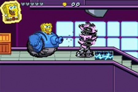 Pantallazo de Nicktoons: Attack of the Toybots para Game Boy Advance