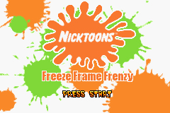 Pantallazo de Nicktoons: Freeze Frame Frenzy para Game Boy Advance