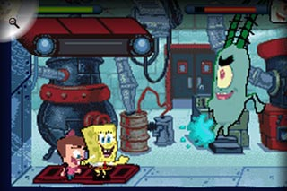Pantallazo de Nicktoons Unite! para Game Boy Advance