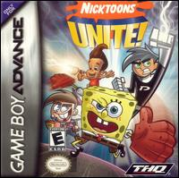 Caratula de Nicktoons Unite! para Game Boy Advance