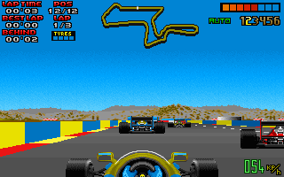 Pantallazo de Nigel Mansell's World Championship Racing para PC