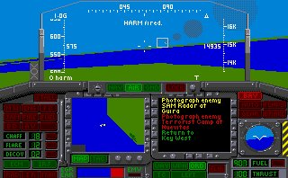 Pantallazo de Nighthawk F-117A Stealth Fighter 2.0 para Amiga