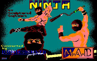 Pantallazo de Ninja, From Entertainment Usa para Amstrad CPC
