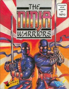 Caratula de Ninja Warriors, The para Spectrum