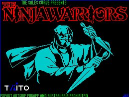 Pantallazo de Ninja Warriors, The para Spectrum