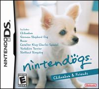 Caratula de Nintendogs: Chihuahua and Friends para Nintendo DS