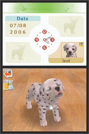 Pantallazo de Nintendogs: Dalmatian and Friends para Nintendo DS