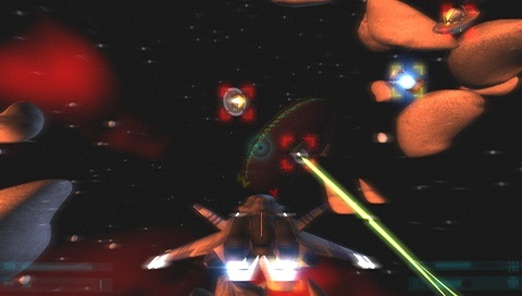 Pantallazo de No Gravity: The Plague of Mind para PSP
