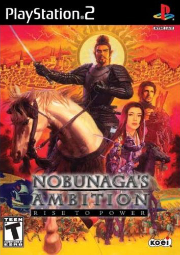 Caratula de Nobunaga's Ambition: Rise to Power para PlayStation 2