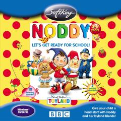 Caratula de Noddy: Let's Get Ready for School para PC
