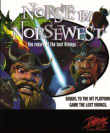 Caratula de Norse by Norsewest: The Return of The Lost Vikings para PC