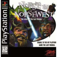Caratula de Norse by Norsewest: The Return of The Lost Vikings para PlayStation