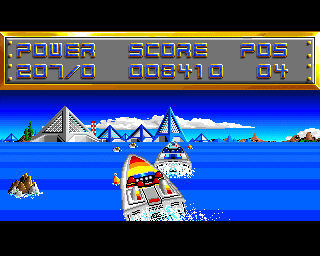 Pantallazo de Off Shore Warrior para Amiga