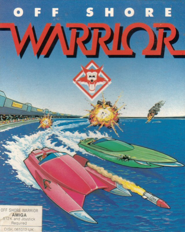 Caratula de Off Shore Warrior para Amiga