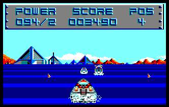Pantallazo de Off Shore Warrior para Amstrad CPC