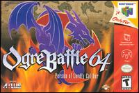 Caratula de Ogre Battle 64: Person of Lordly Caliber para Nintendo 64