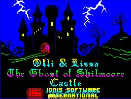 Pantallazo de Olli & Lissa: The Ghost of Shilmoore para Spectrum