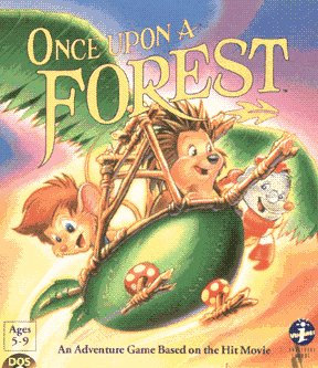 Caratula de Once Upon a Forest para PC