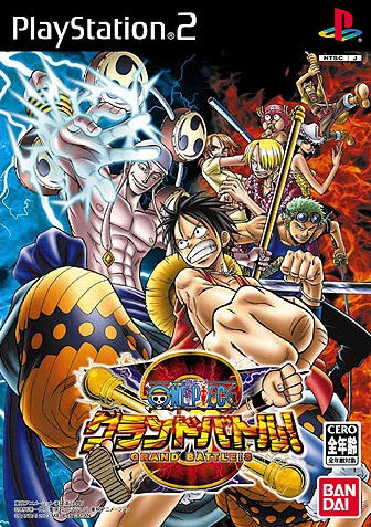 One Piece Grand Battle! 3 (Japonés) (Caratula de PlayStation 2) a