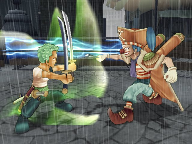 Pantallazo de One Piece Grand Battle! Rush (Japonés) para PlayStation 2