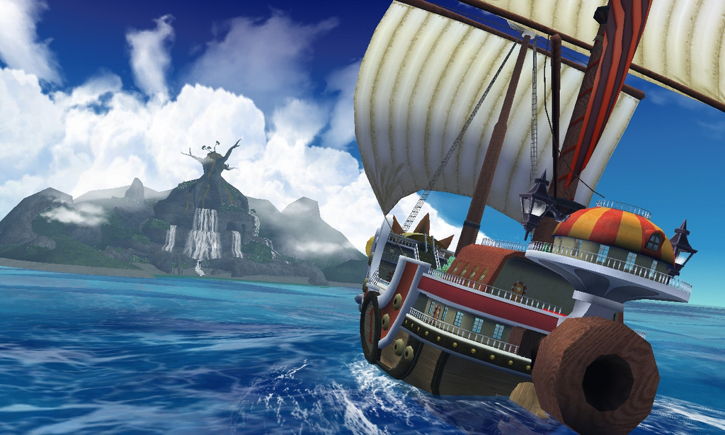Pantallazo de One Piece Unlimited Cruise: Episode 1 para Wii