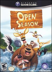 Caratula de Open Season para GameCube