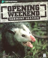 Caratula de Opening Weekend: Varmint Season para PC