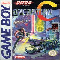 Caratula de Operation C para Game Boy
