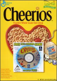 Caratula de Operation CD-ROM: General Mills Cereal Promotion para PC