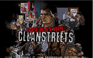 Pantallazo de Operation Cleanstreets para Atari ST