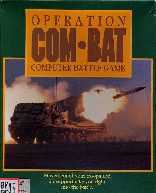 Caratula de Operation Com-Bat para Amiga