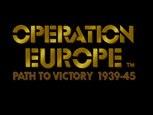 Pantallazo de Operation Europe: Path to Victory 1939-45 para PC