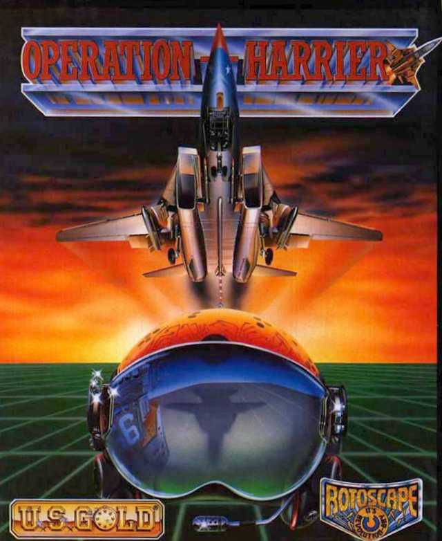 Caratula de Operation Harrier para Amiga