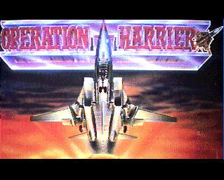 Pantallazo de Operation Harrier para Amiga
