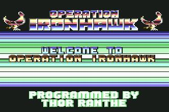 Pantallazo de Operation Ironhawk para Commodore 64