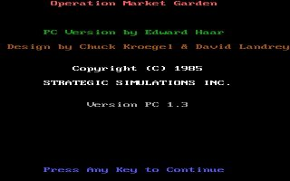 Pantallazo de Operation Market Garden para PC