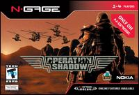 Caratula de Operation Shadow para N-Gage