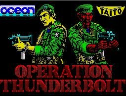 Pantallazo de Operation Thunderbolt para Spectrum