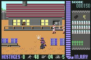 Pantallazo de Operation Wolf para Commodore 64