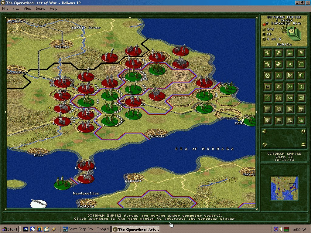 Pantallazo de Operational Art of War: Century of Warfare, The para PC