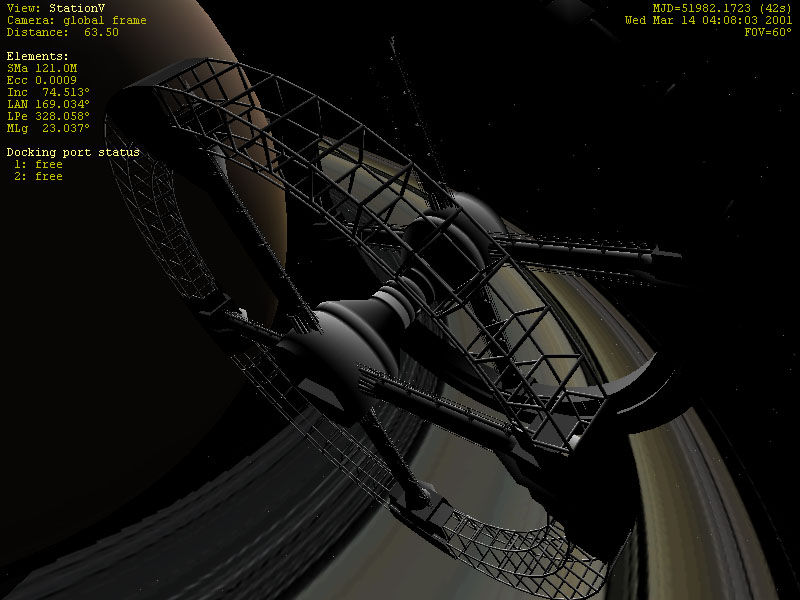 Pantallazo de Orbiter: Space Flight Simulator para PC