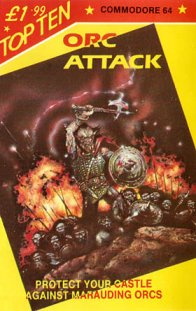 Caratula de Orc Attack para Commodore 64