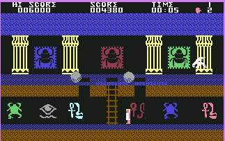 Pantallazo de Orpheus in the Underworld para Commodore 64