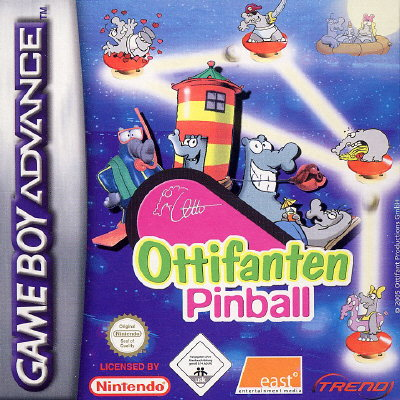 Caratula de Ottifanten Pinball para Game Boy Advance